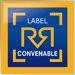 Mini label Convenable Carre Expert Auto