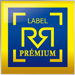Mini label Premium Carre Expert Auto