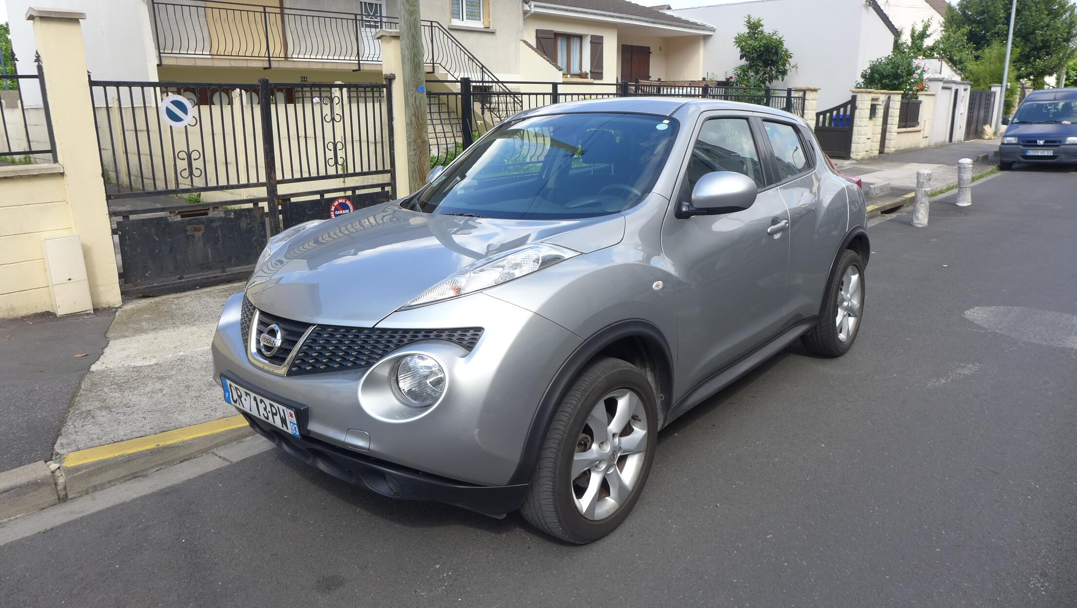 voiture occasion nissan juke labellis e vendre ref 1175. Black Bedroom Furniture Sets. Home Design Ideas