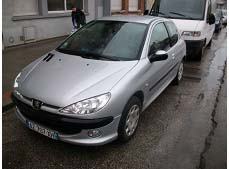 voiture occasion peugeot 206 labellis e vendre. Black Bedroom Furniture Sets. Home Design Ideas