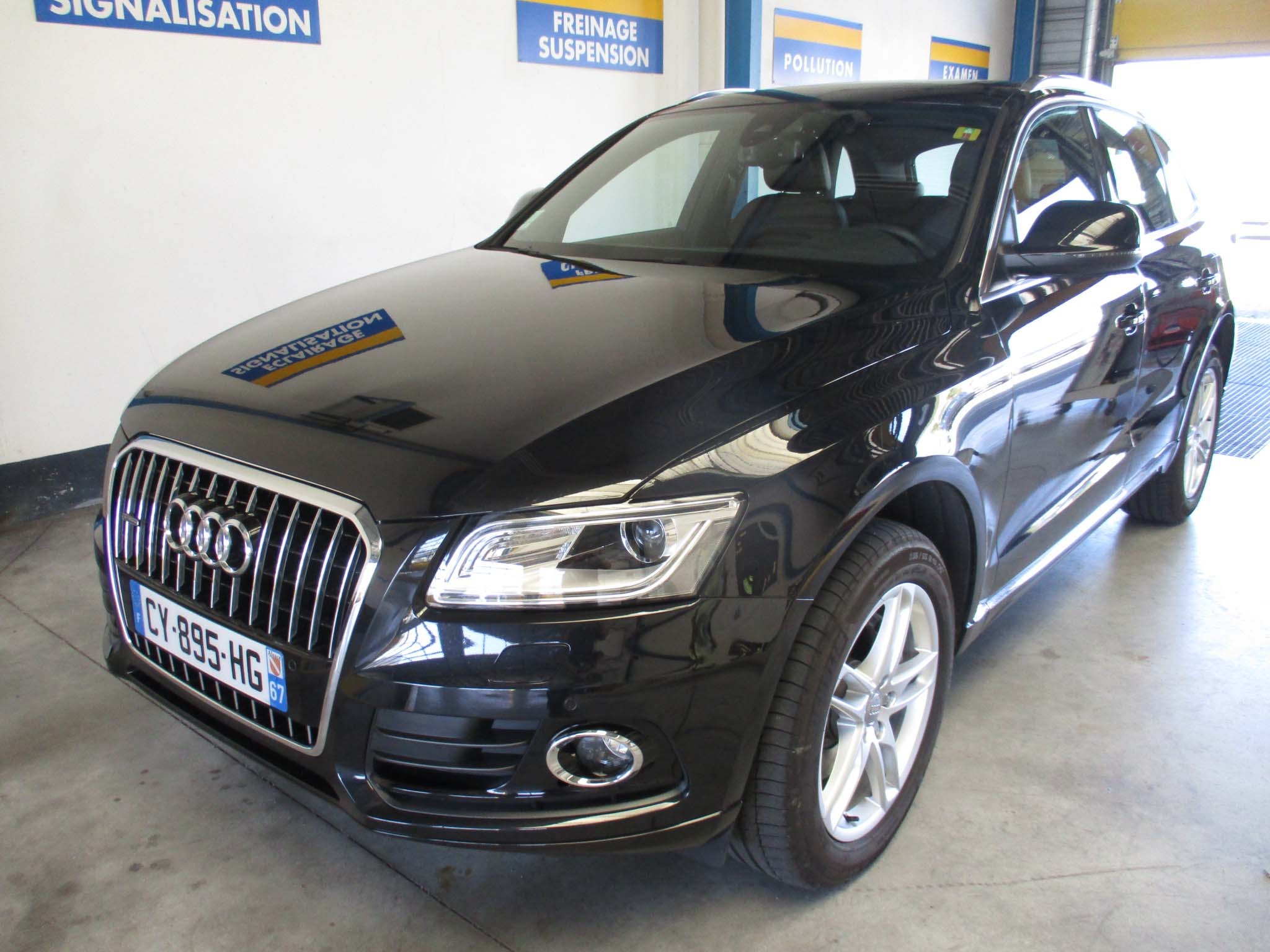 voiture occasion audi q5 labellis e vendre truchtersheim ref 550. Black Bedroom Furniture Sets. Home Design Ideas