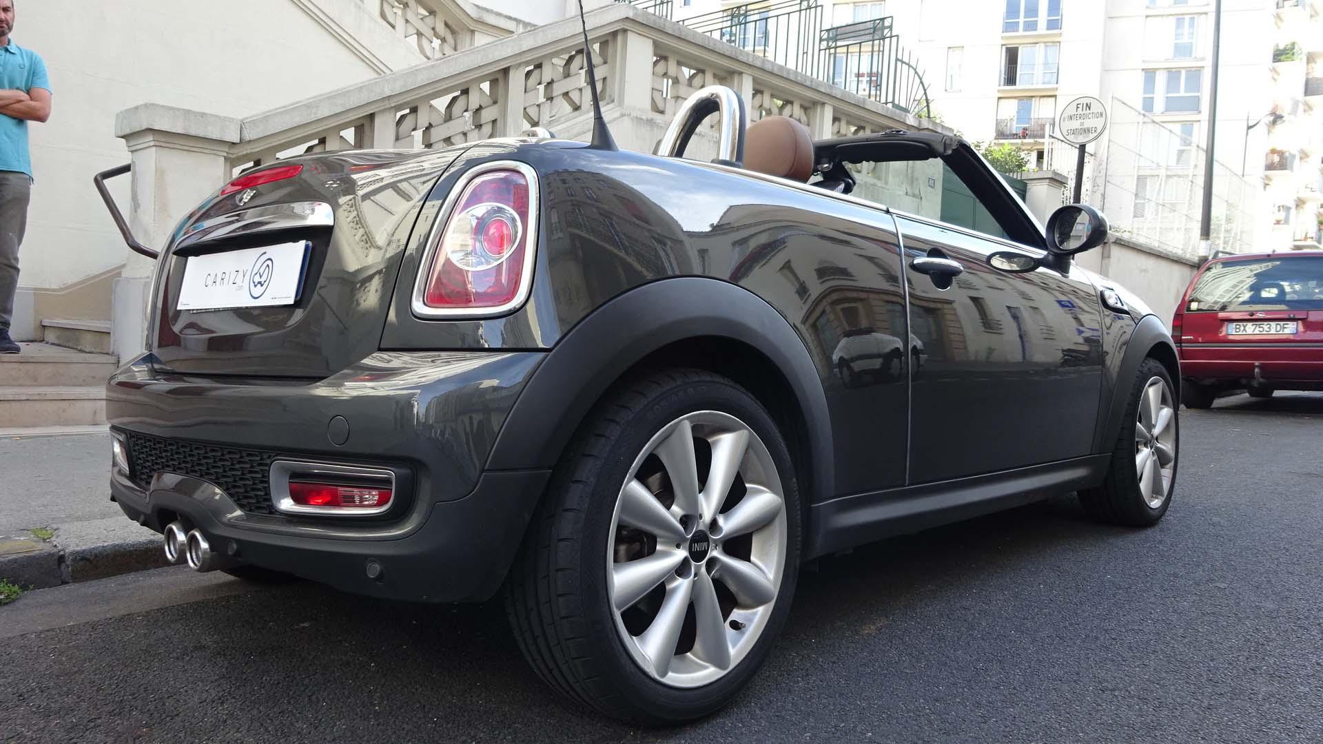 voiture occasion mini cabriolet labellis e vendre paris ref 593. Black Bedroom Furniture Sets. Home Design Ideas