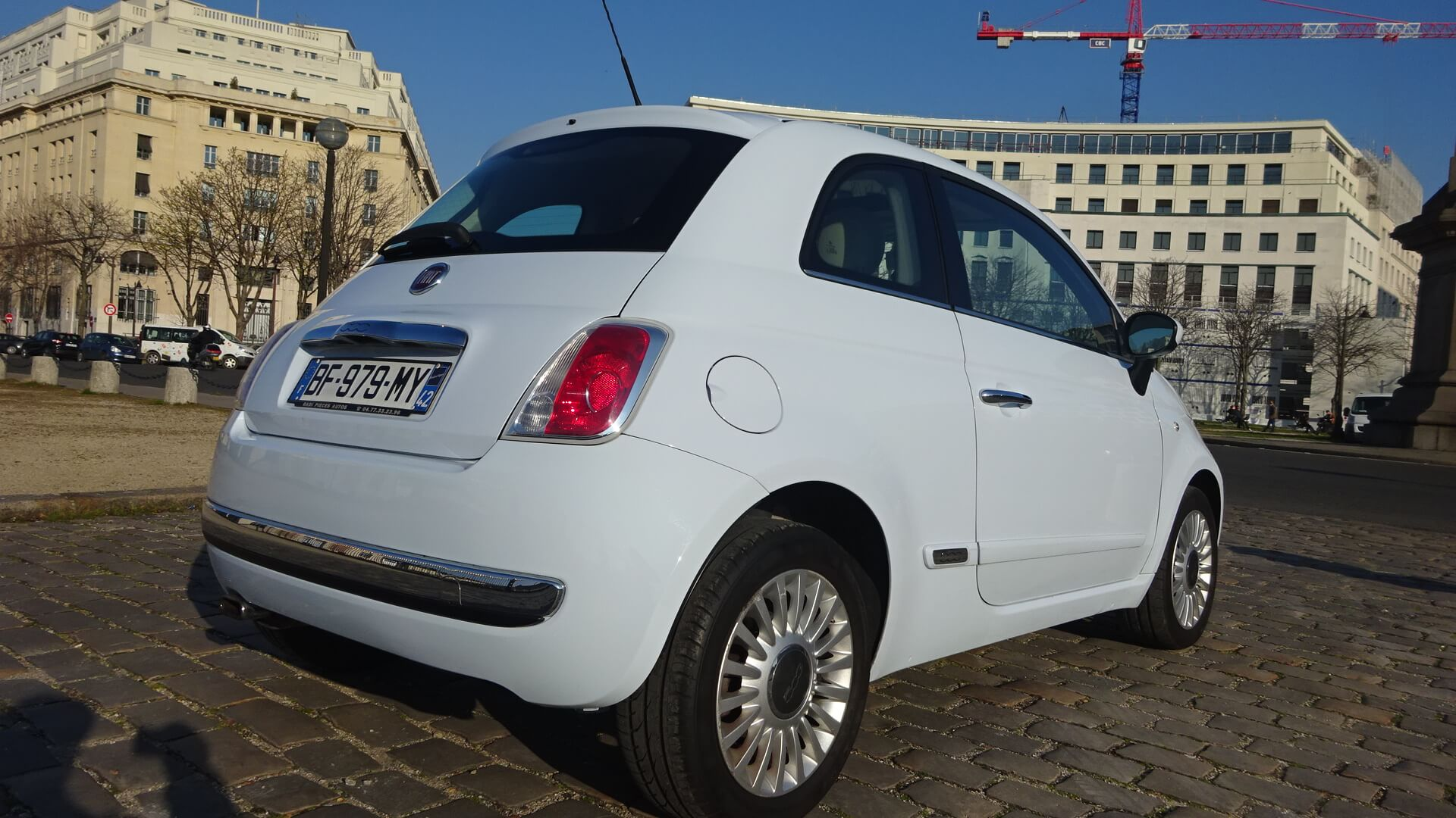 voiture occasion fiat 500 labellis e vendre ref 934. Black Bedroom Furniture Sets. Home Design Ideas